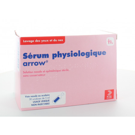 Sérum Physiologique Arrow 30X5ml