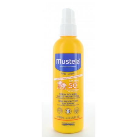 Mustela Spray Solaire SPF50 200ml