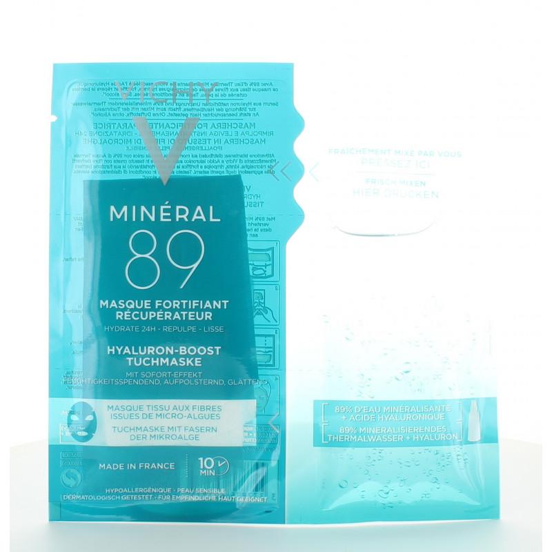 Vichy Minéral 89 Masque Tissu Fortifiant Récupérateur X1