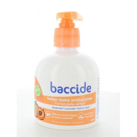 Baccide Savon Mains Antibactérien Pêche-abricot 300ml