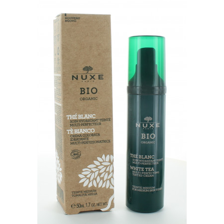 Nuxe Bio Soin Hydratant Teinte Medium 50ml