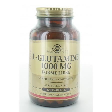 Solgar L-Glutamine 1000mg 60 tablets