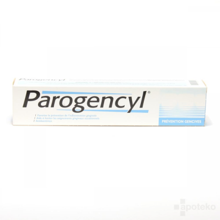Dentifrice Parogencyl Prévention Gencives 75 ml