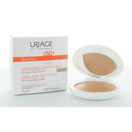 Uriage Bariésun Crème Minérale Compacte Teintée Dorée SPF50+