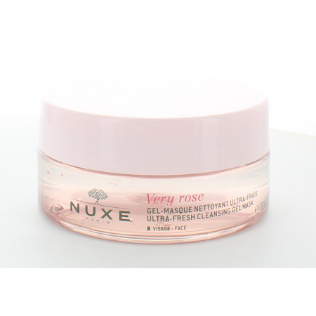 Nuxe Very Rose Gel-masque Nettoyant 150ml