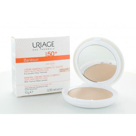 Uriage Bariésun Crème Minérale Compacte Claire SPF50+ 10g