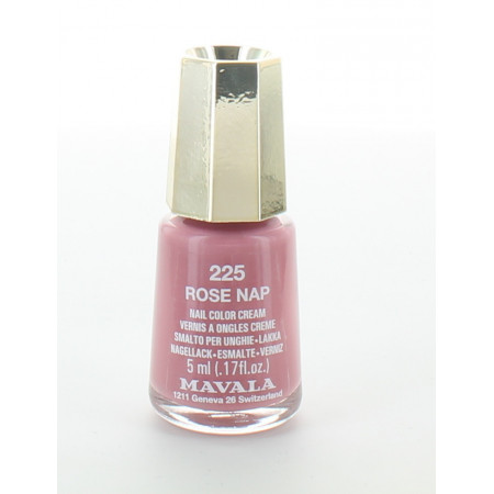 Mavala 225 Rose Nap Vernis à Ongles 5ml