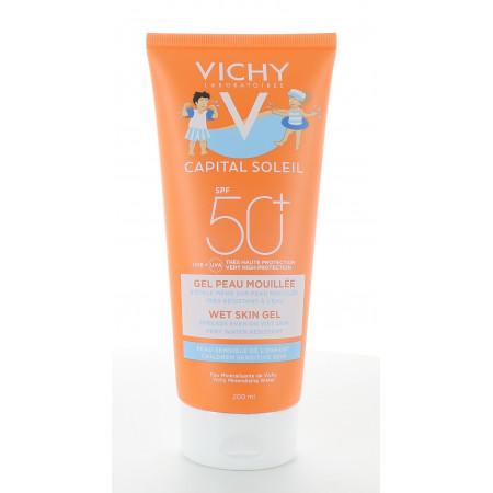 Vichy Capital Soleil Enfants Gel Peau Mouillée SPF50+ 200ml