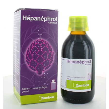Hépanéphrol Solution Buvable 200ml