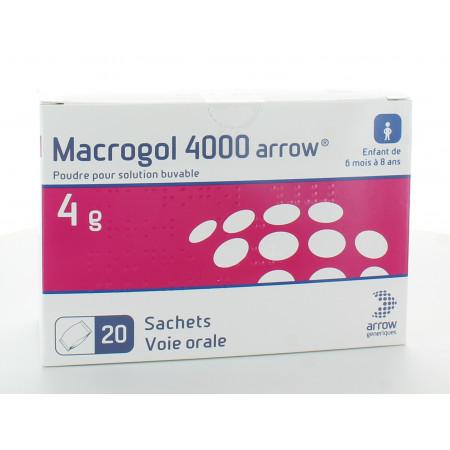 Macrogol 4000 4g Arrow 20 sachets