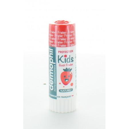 Dermophil Kids Stick Lèvres Fraise