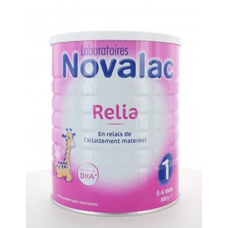 Novalac Relia 1 0-6 mois 800g