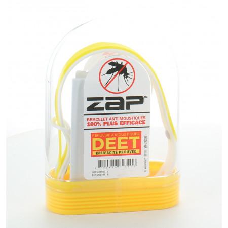 Bracelet Anti-moustiques Jaune&Blanc ZAP
