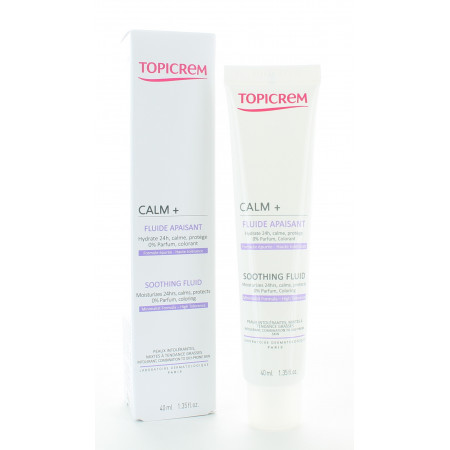 Topicrem Calm+ Fluide Apaisant 40ml