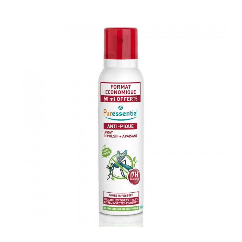 PURESSENTIEL ANTI-PIQUE EFFICACITE 7H 200 ml