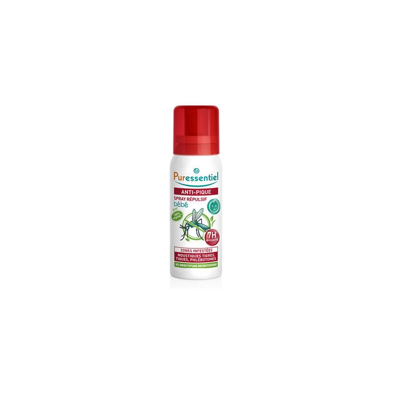 Spray Répulsif Anti-pique Bébé Puressentiel 60 ml