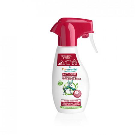 Spray Répulsif Anti-pique Vêtements et Tissus Puressentiel 150 ml