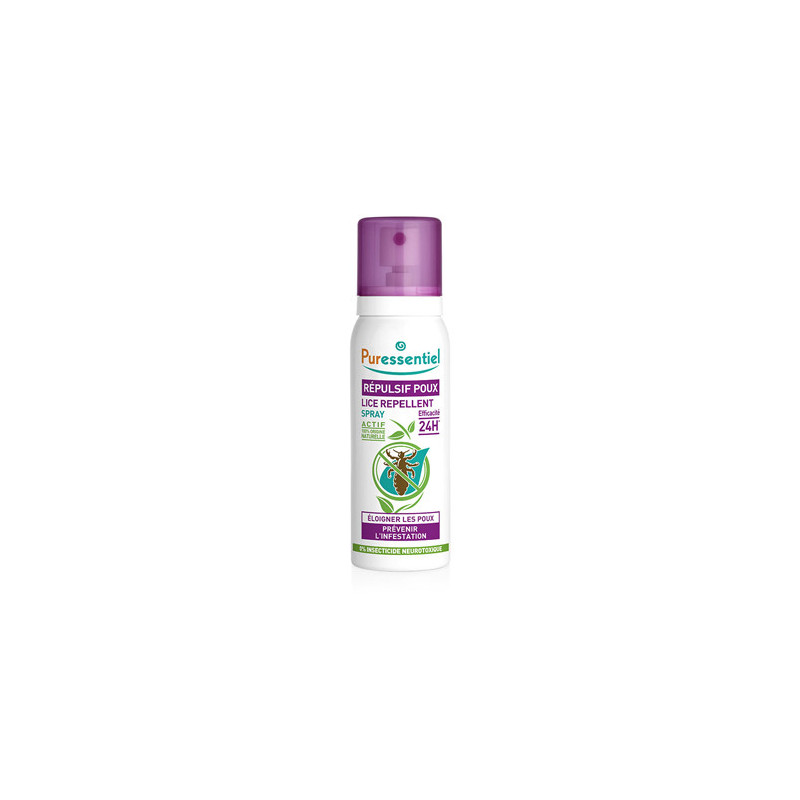 Puressentiel Spray Répulsif Anti-poux 75ml