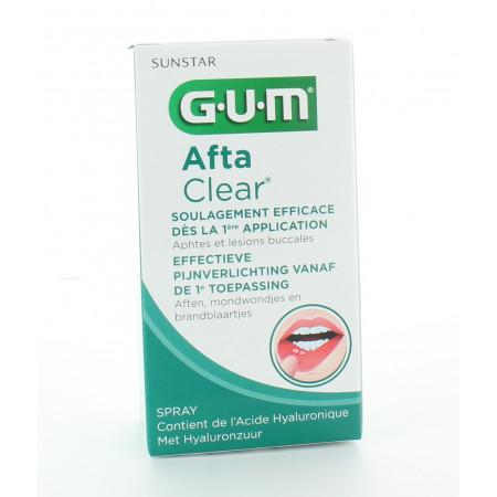 GUM Spray Afta Clear 15ml