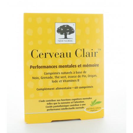 Cerveau Clair New Nordic 60 comprimés