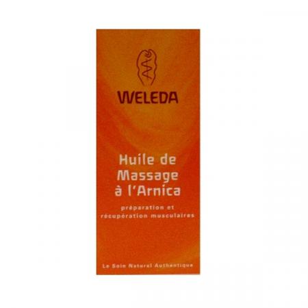 WELEDA HUILE MASSAGE ARNICA 200ML