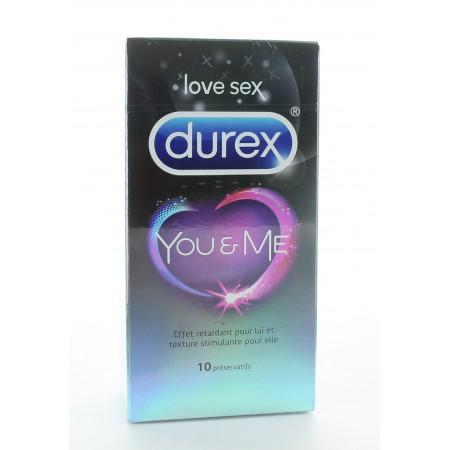 Durex Préservatifs You&Me X10