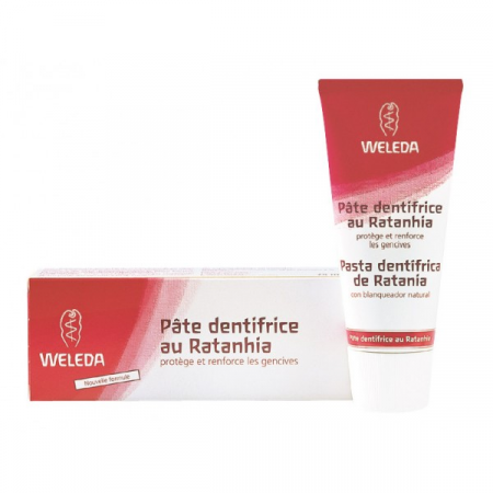 Pâte Dentifrice au Ratanhia Weleda 75 ml