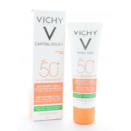 Vichy Capital Soleil Soin Matifiant 3en1 SPF50+ 50ml