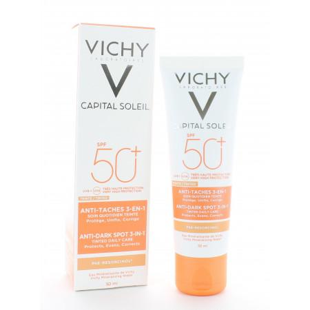 Vichy Capital Soleil Soin Anti-taches Teinté 3en1 SPF50+ 50ml