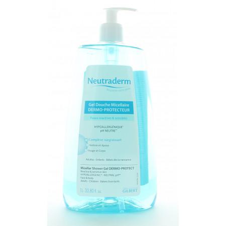 Neutraderm Gel DoucheMicellaire Dermo-protecteur 1L