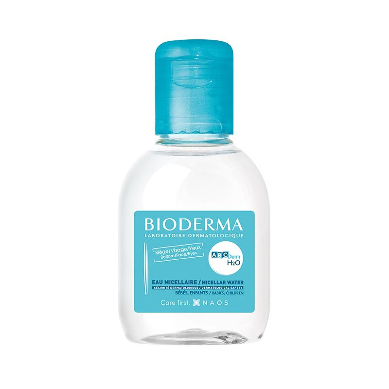 Solution Micellaire ABCDerm H2O Bioderma 100 ml