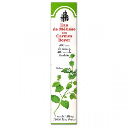 EAU MELISSE BOYER DOUBLE 10CL