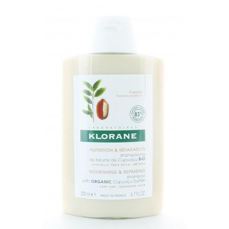 Klorane Shampooing Nutrition & Réparation au Cupuaçu Bio 200ml