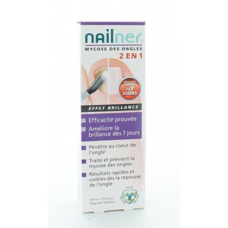 Nailner Mycose des Ongles 2en1 Effet Brillant 5ml