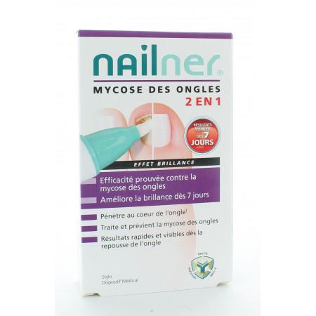 Nailner Mycose des Ongles 2en1 Stylo Effet Brillant 4ml