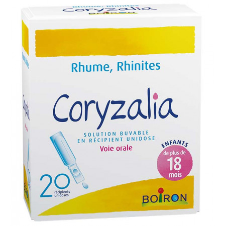 Boiron Coryzalia Solution Buvable 20 unidoses