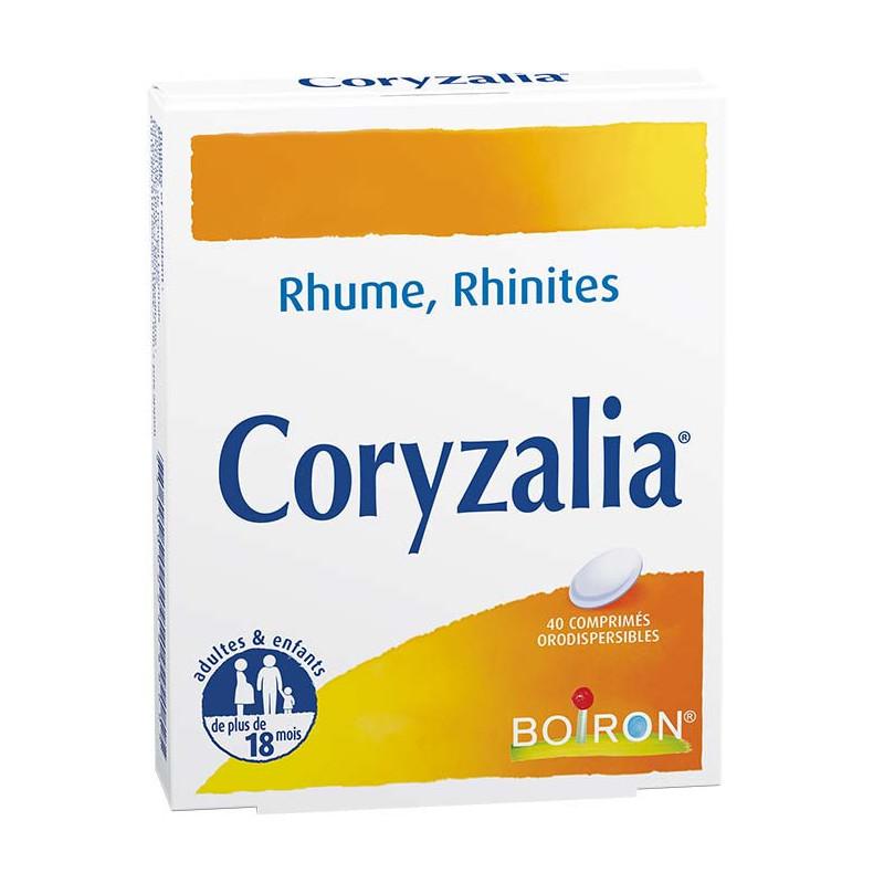 Boiron Coryzalia 40 comprimés orodispersibles