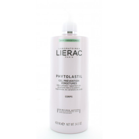Lierac Phytolastil Gel Prévention Vergetures 400ml