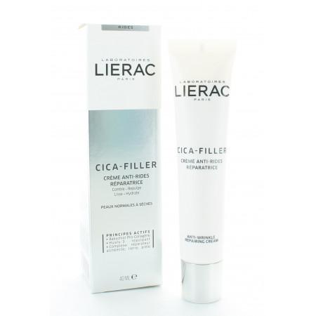 Lierac Cica - Filler Crème Anti-rides Réparatrice 40ml