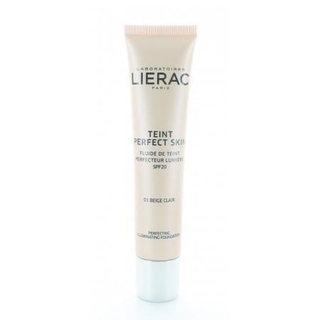 Lierac Teint Perfect Skin Fluide de Teint 01 Beige Clair 30ml