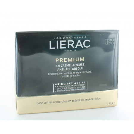 Lierac Premium La Crème Soyeuse Anti-âge Absolu 50ml