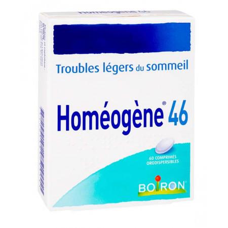 Homéogène 46 60 comprimés orodispersibles