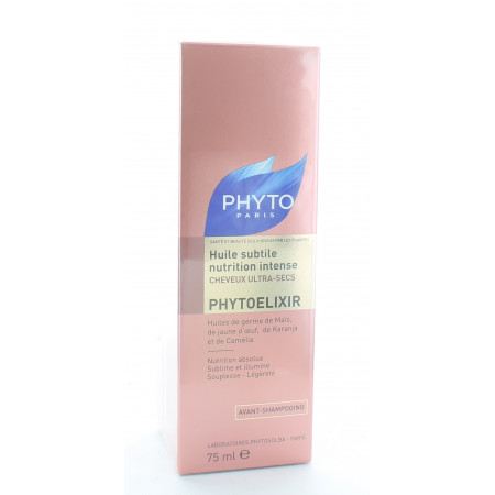PhytoElixir Huile Subtile Nutrition Intense 75ml