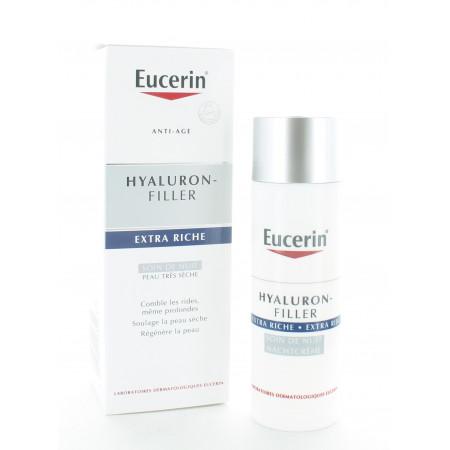 Eucerin Hyaluron-Filler Soin de Nuit Extra Riche 50ml