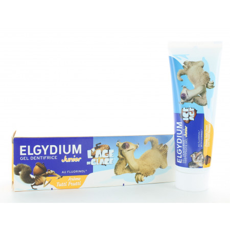 Elgydium Gel Dentifrice Junior Tutti Frutti 50ml