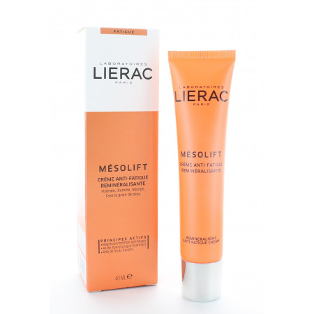 Lierac Mésolift Crème Anti-fatigue Reminéralisante 40ml