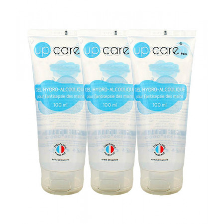 Up Care Gel Hydro-alcoolique 3X100ml