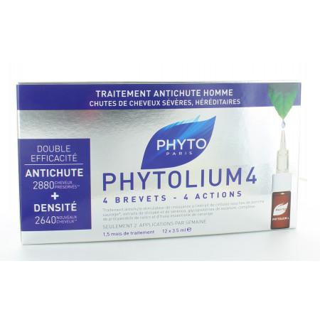 Phytolium 4 Traitement Antichute Homme 12x3,5ml