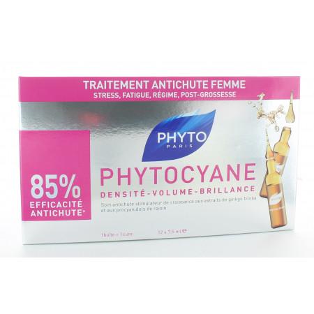 PhytoCyane Traitement Anti-chute Femme 12x7,5ml