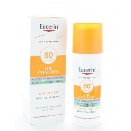 Eucerin Oil Control Sun Gel-Crème SPF50+ 50ml